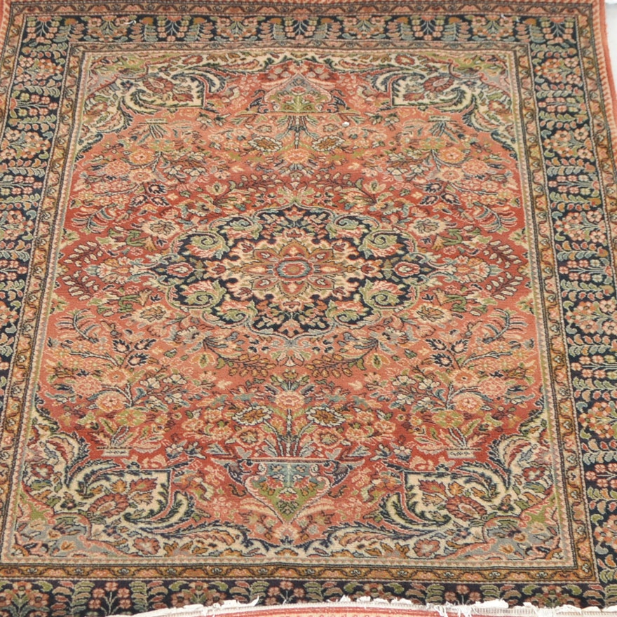 Tapisift Persian Inspired Tabriz Style Machine Woven Rug Made In France