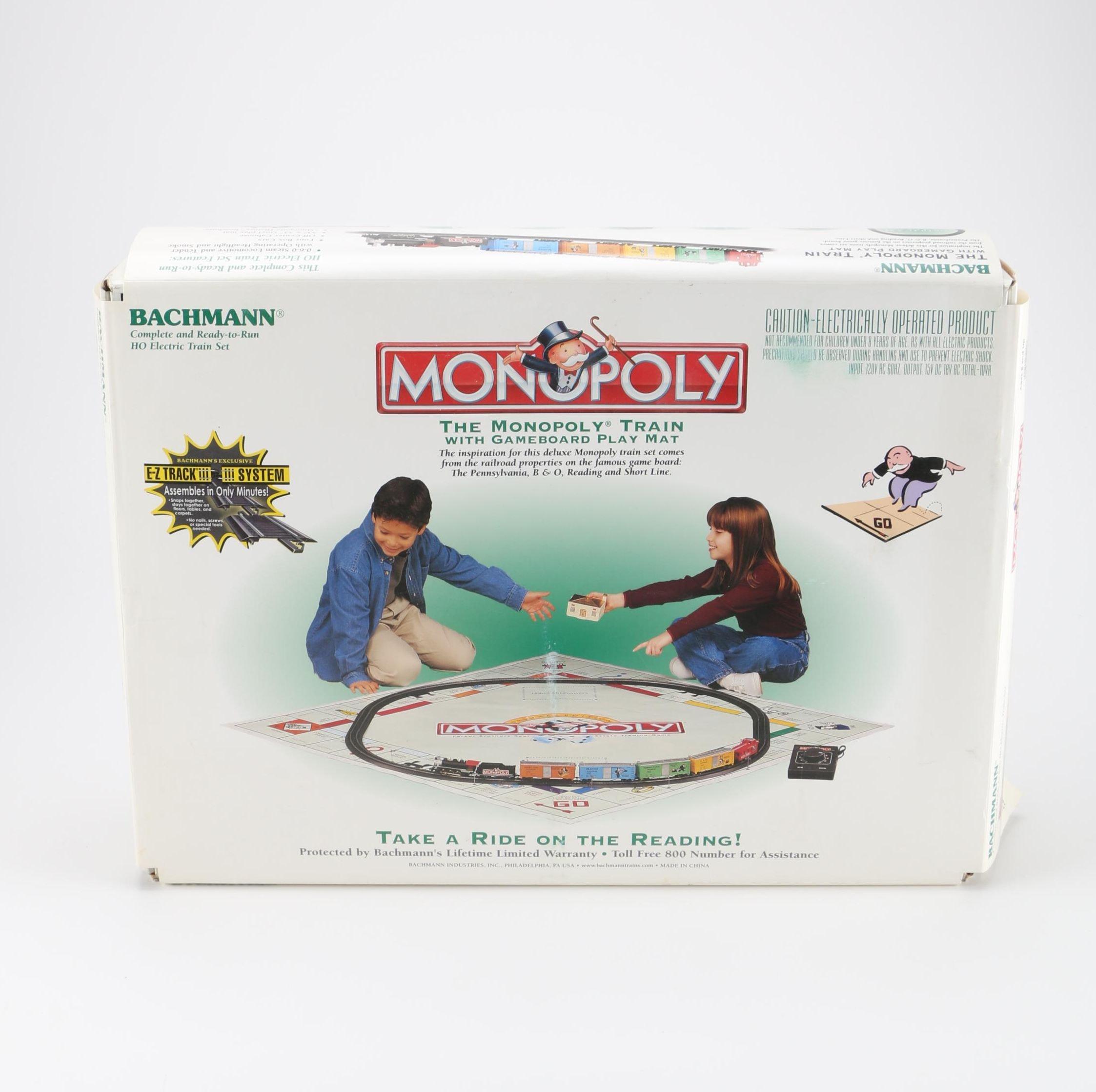 HO Scale Bachmann Monopoly Train Set