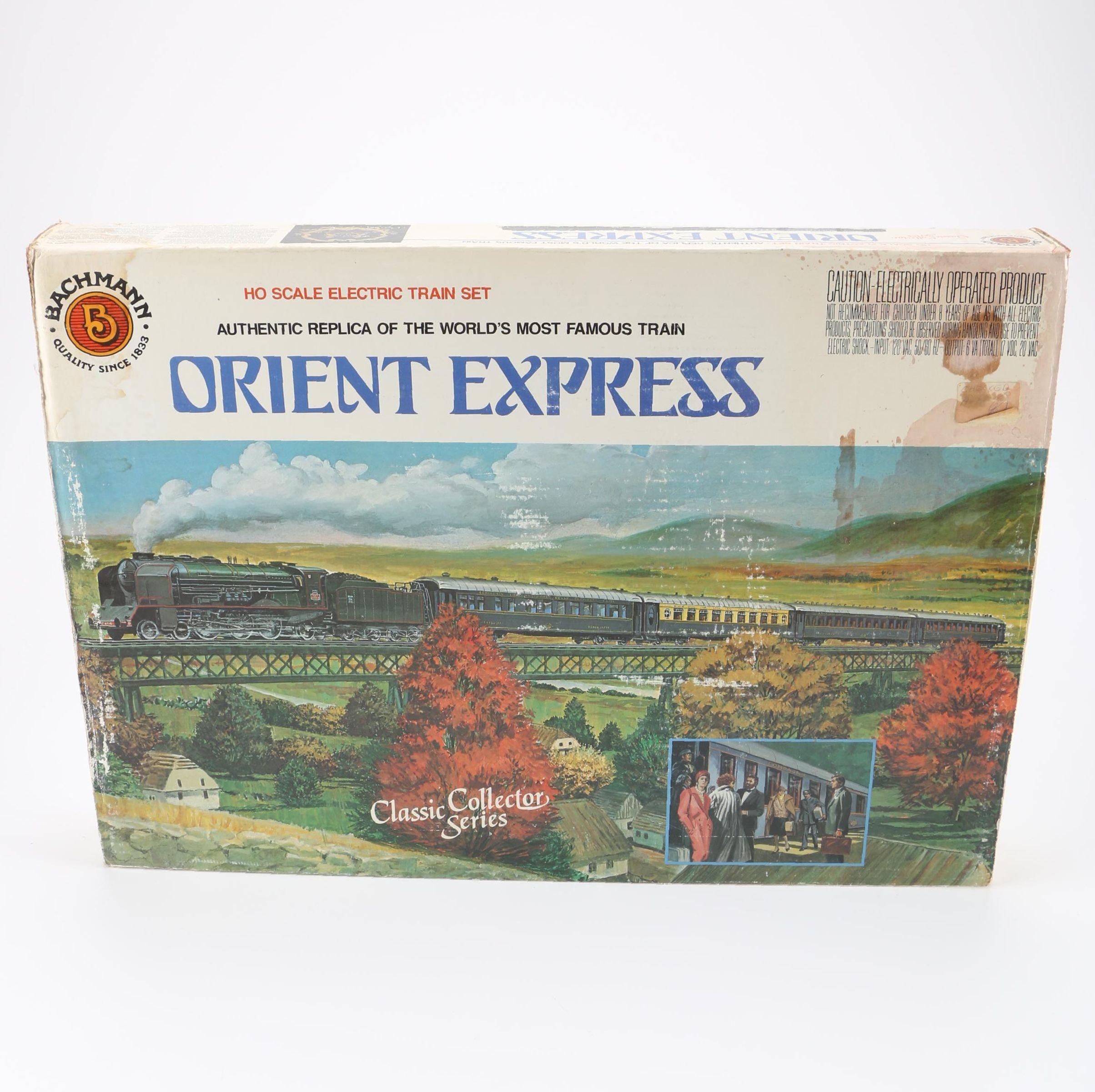 """Bachmann """"Orient Express"""" Electric Train Set"""