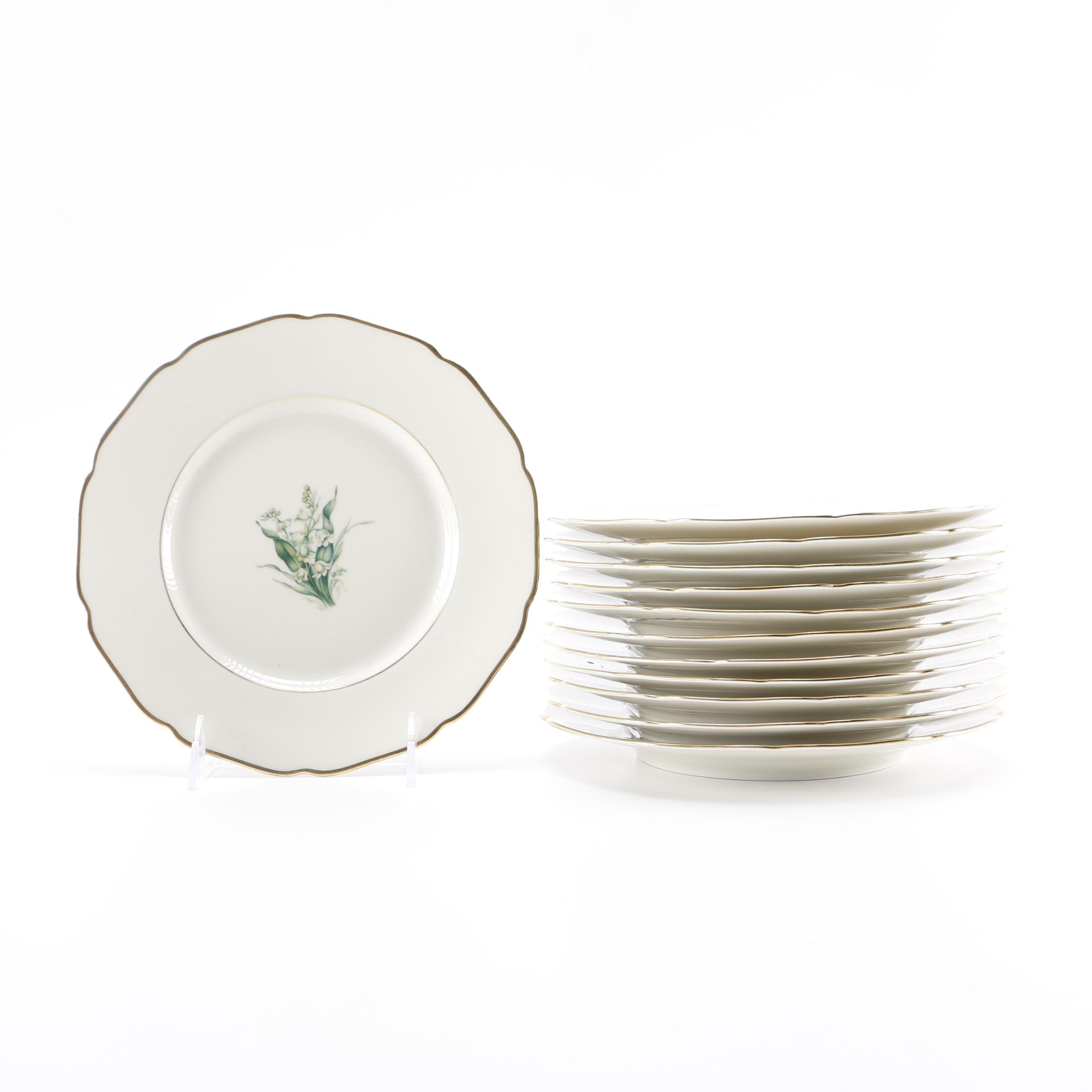 Twelve German Royal York  Lily of the Valley  China Plates ...  sc 1 st  EBTH.com & Twelve German Royal York