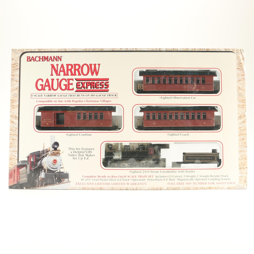 Bachmann Narrow Gauge Express Train Set