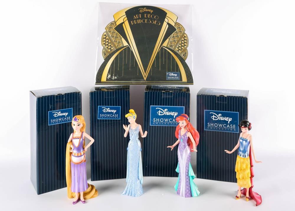"Disney ""Art Deco"" Princess Figurines"