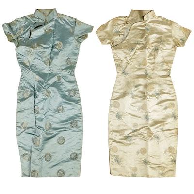 Vintage Silk Cheongsam Dresses