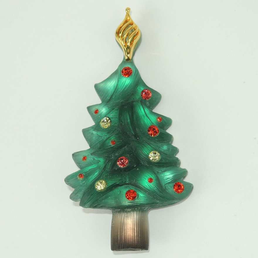 alexis bittar signed nordstrom exclusive christmas tree pin - Nordstrom Christmas