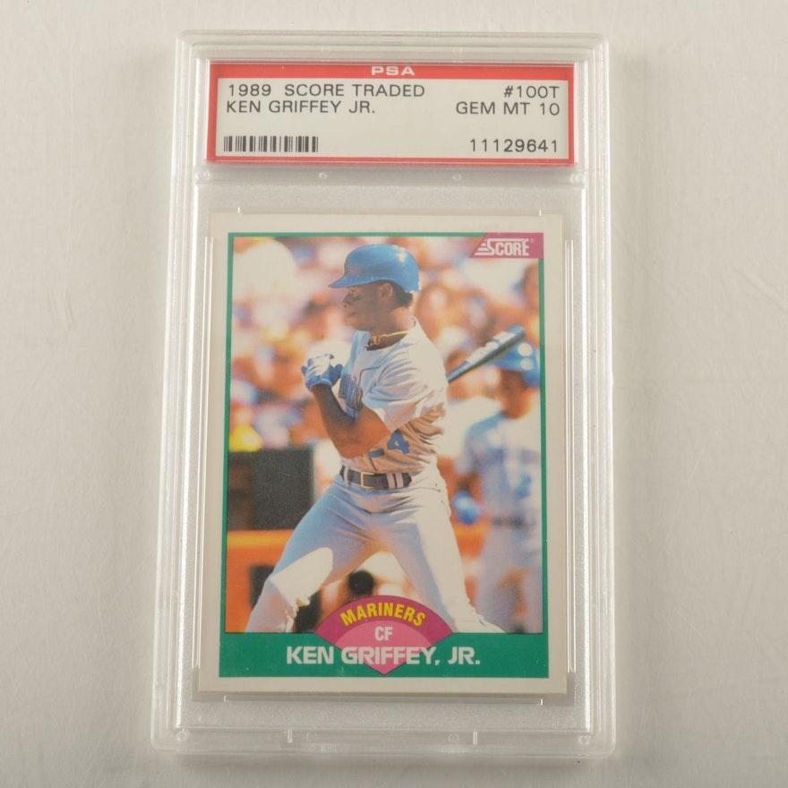 c03b4bd47c 1989 Score Ken Griffey Jr. Rookie Baseball Card #100T : EBTH