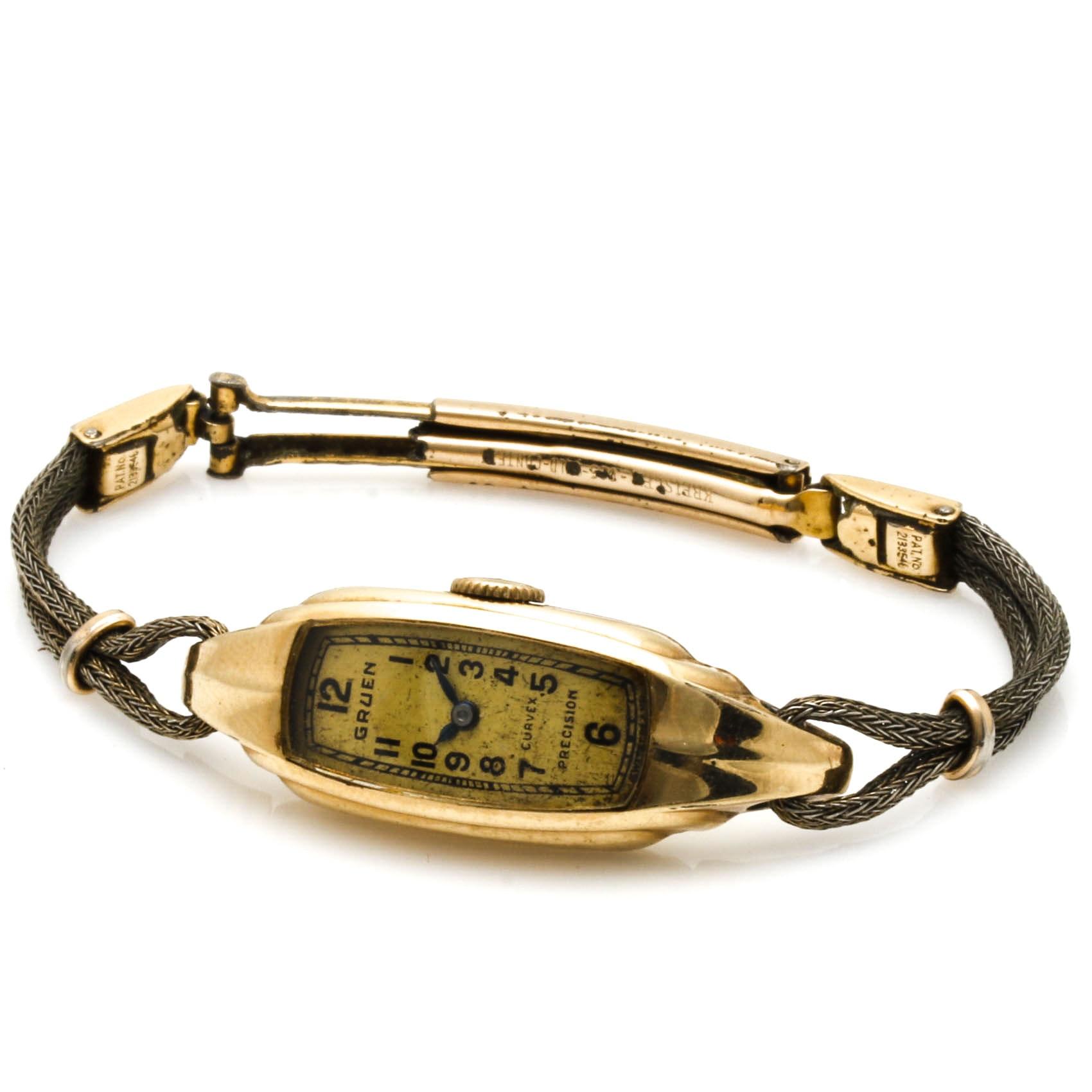 Women's Gruen Gold Filled Wristwatch
