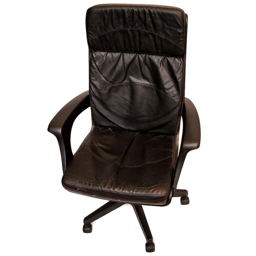 Effezeta Executive Leather Office Chair : EBTH