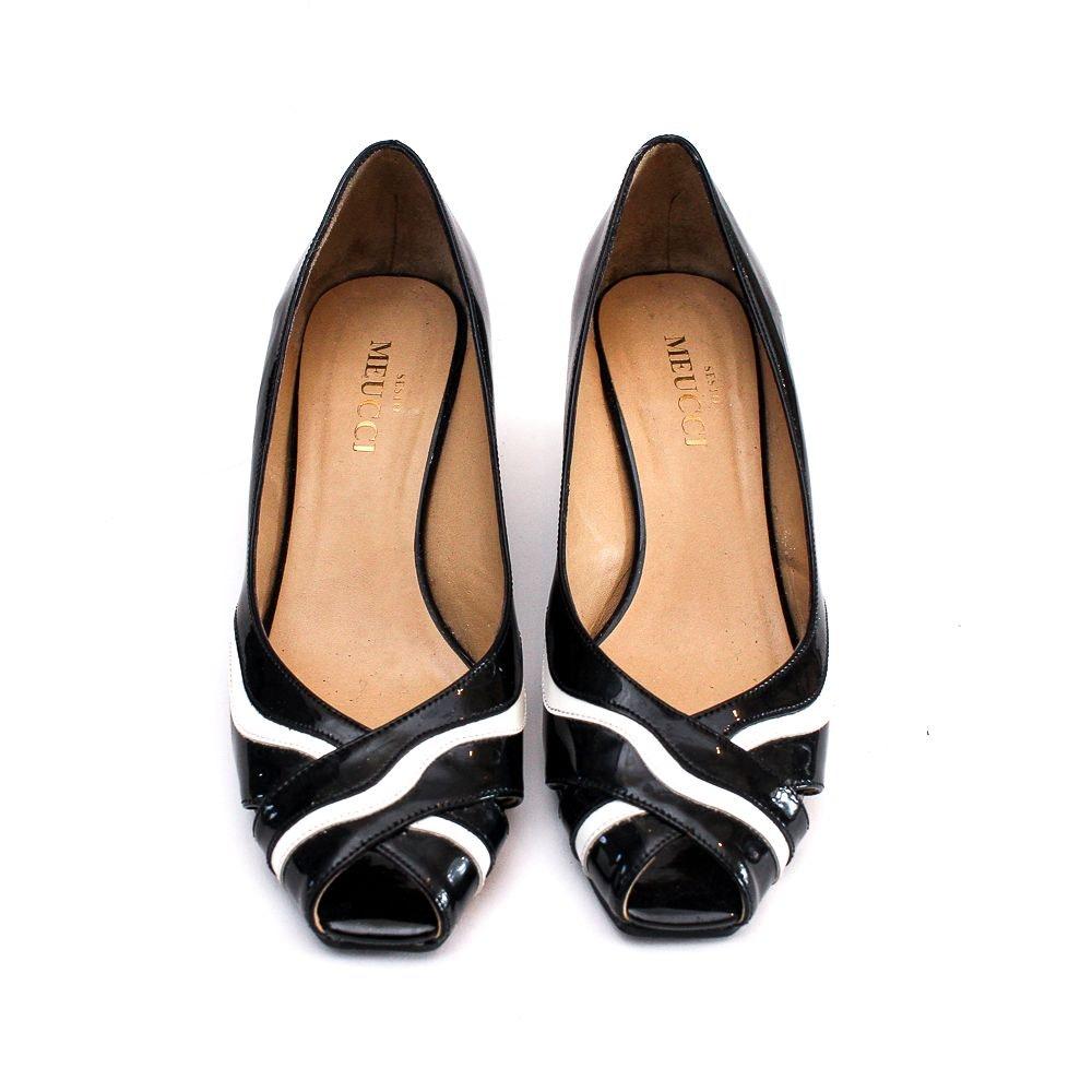 Pair of Sesto Meucci Wedge Heels