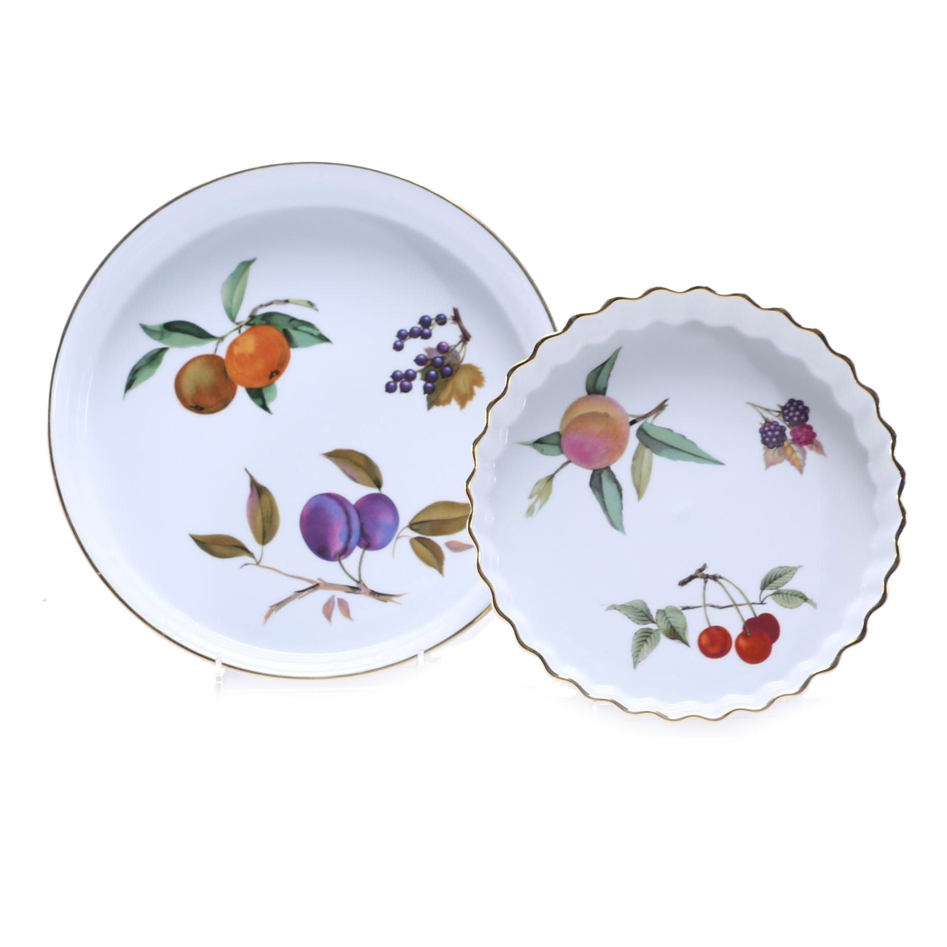 Royal Worcester \ Evesham\  Porcelain Baking Dishes ...  sc 1 st  EBTH.com & Royal Worcester \