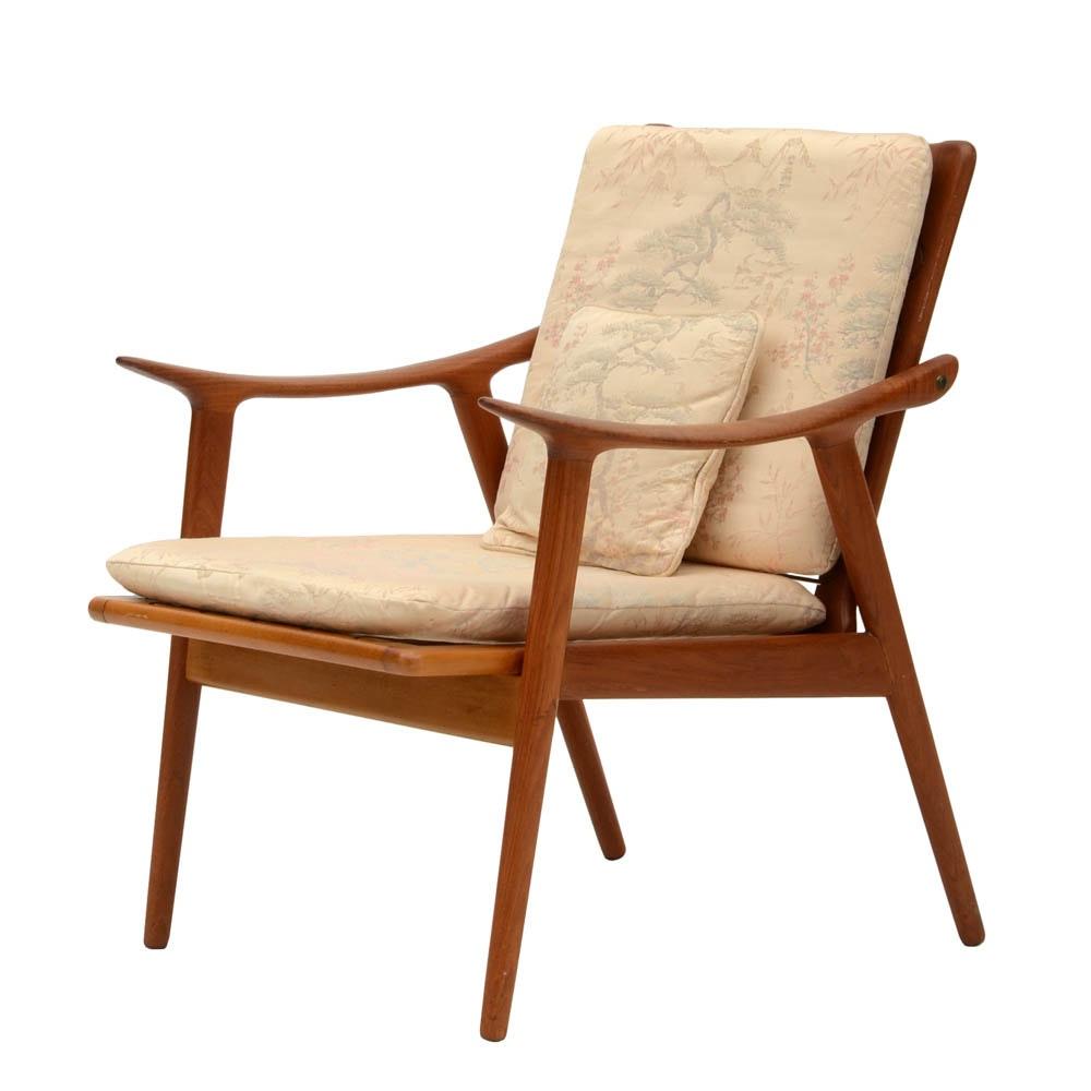 Danish Modern Teak Arm Chair