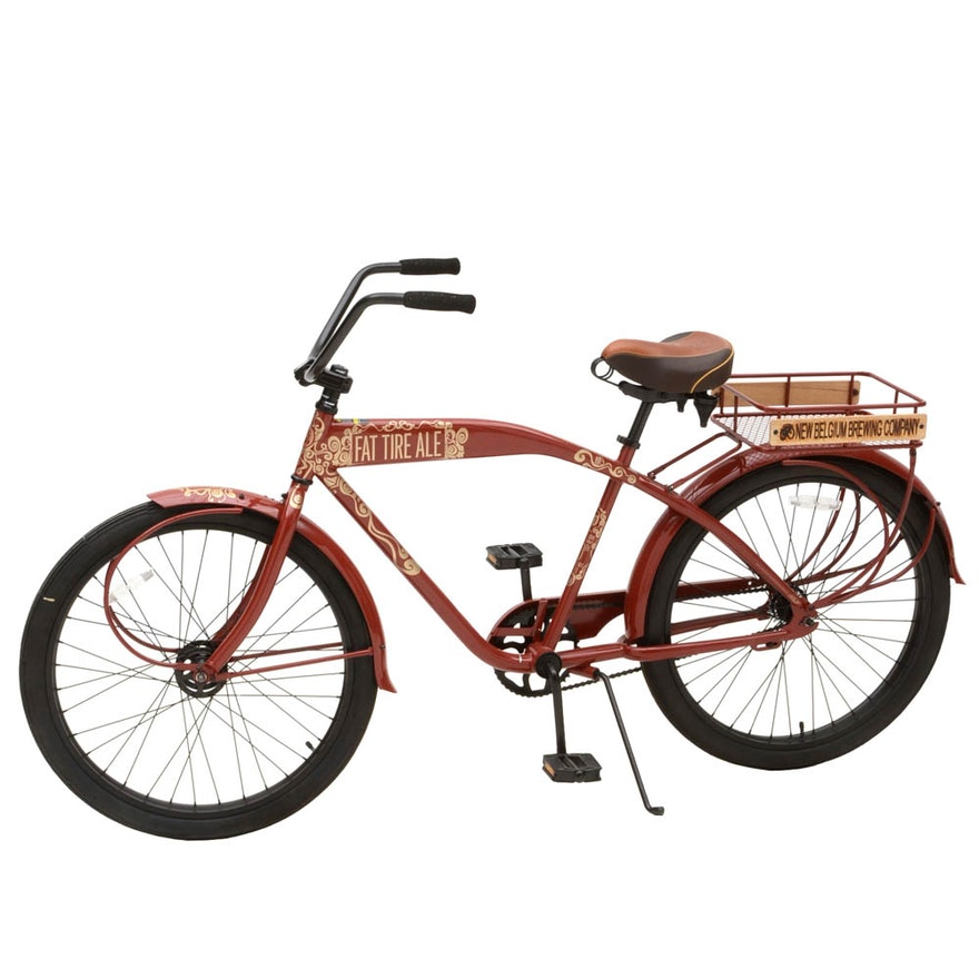 New Belgium Fat Tire Ale Beach Cruiser Bicycle By Felt