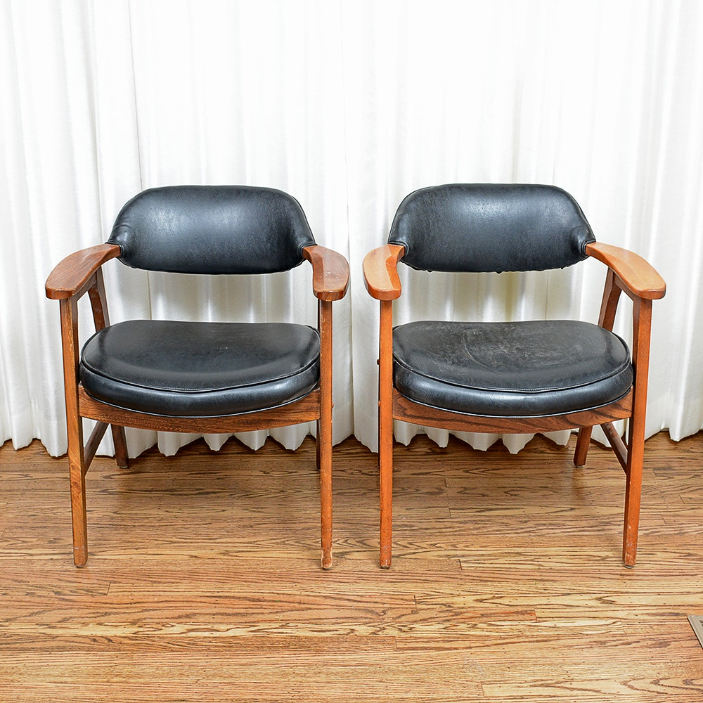 Two Early 1960s Murphy Miller Mid Century Modern Chairs ...