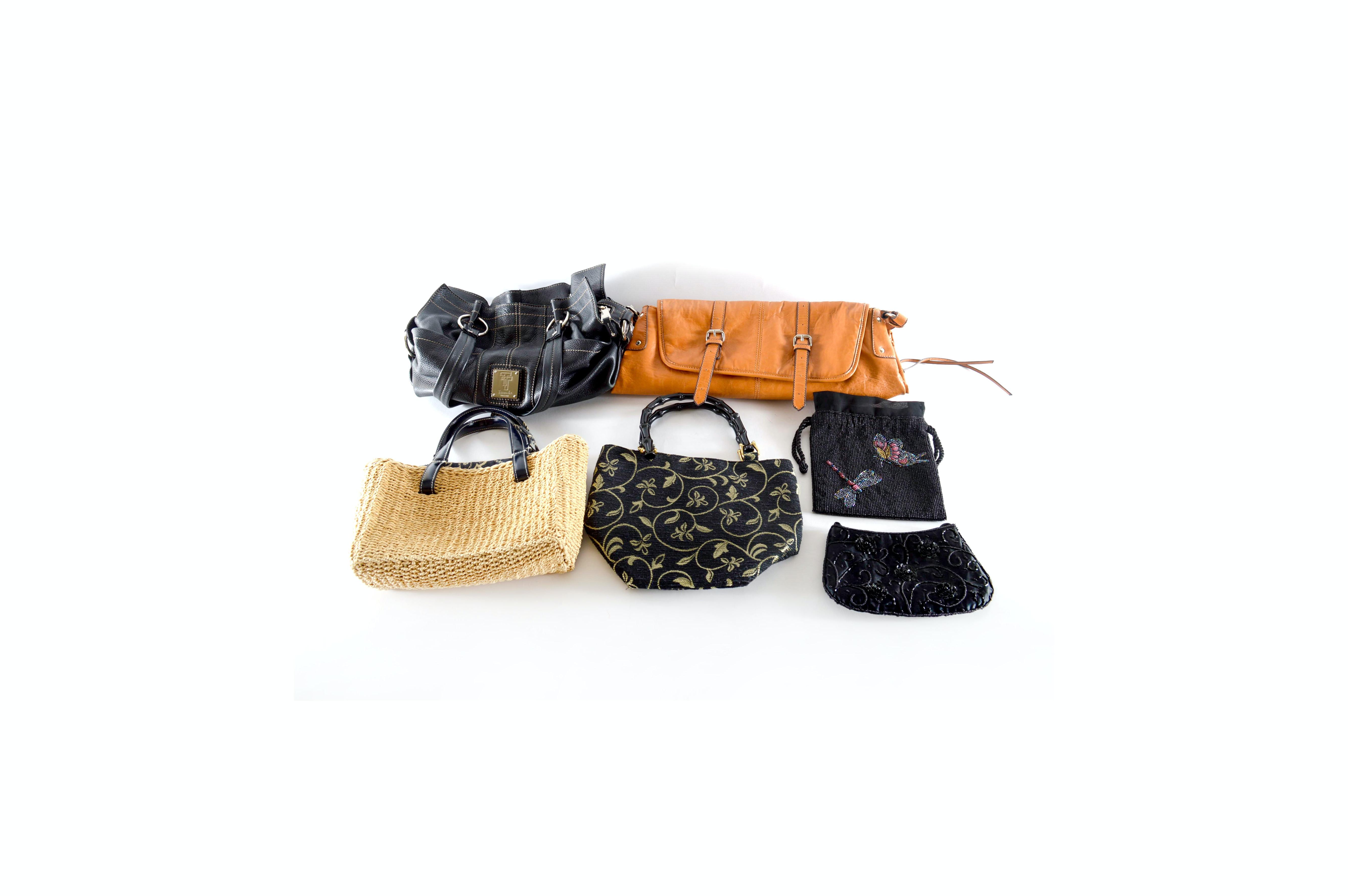 Collection of Purses and Handbags Including Tignanello