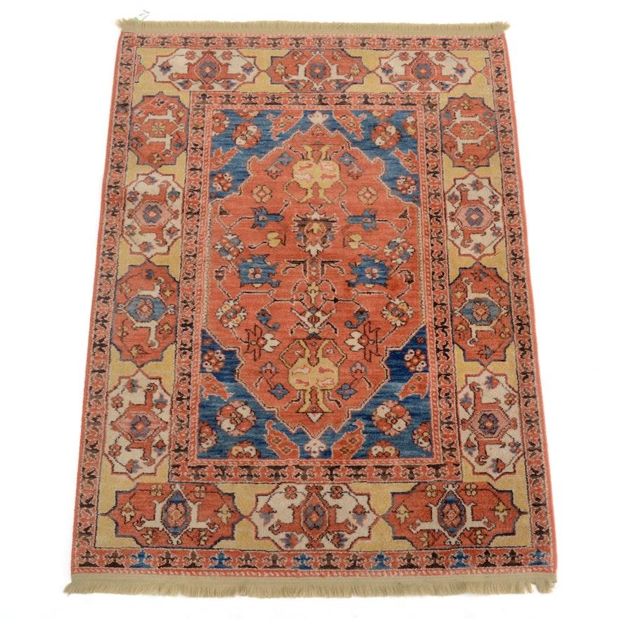 Persian Style Wool Area Rug Ebth: Karastan Williamsburg Rugs