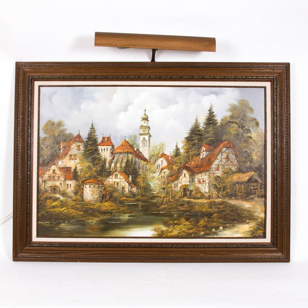 Original Acrylic Painting by H Schmidt