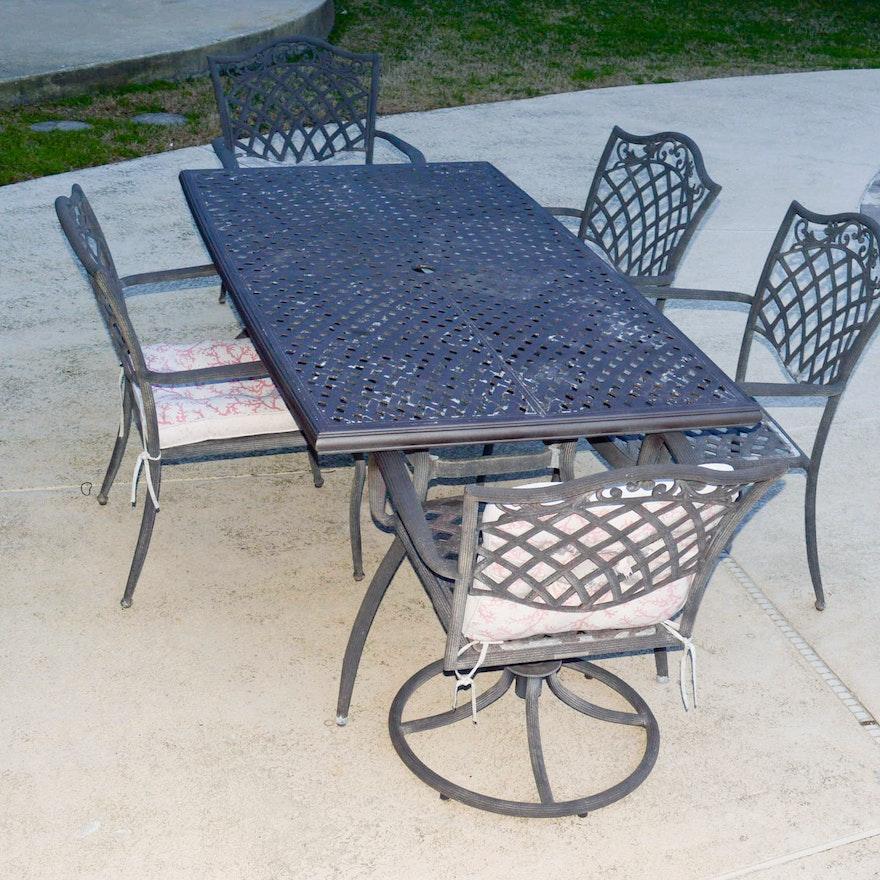 Garden Treasures Patio Furniture Parts: Garden Treasures Classics Patio Table And Chair Set : EBTH