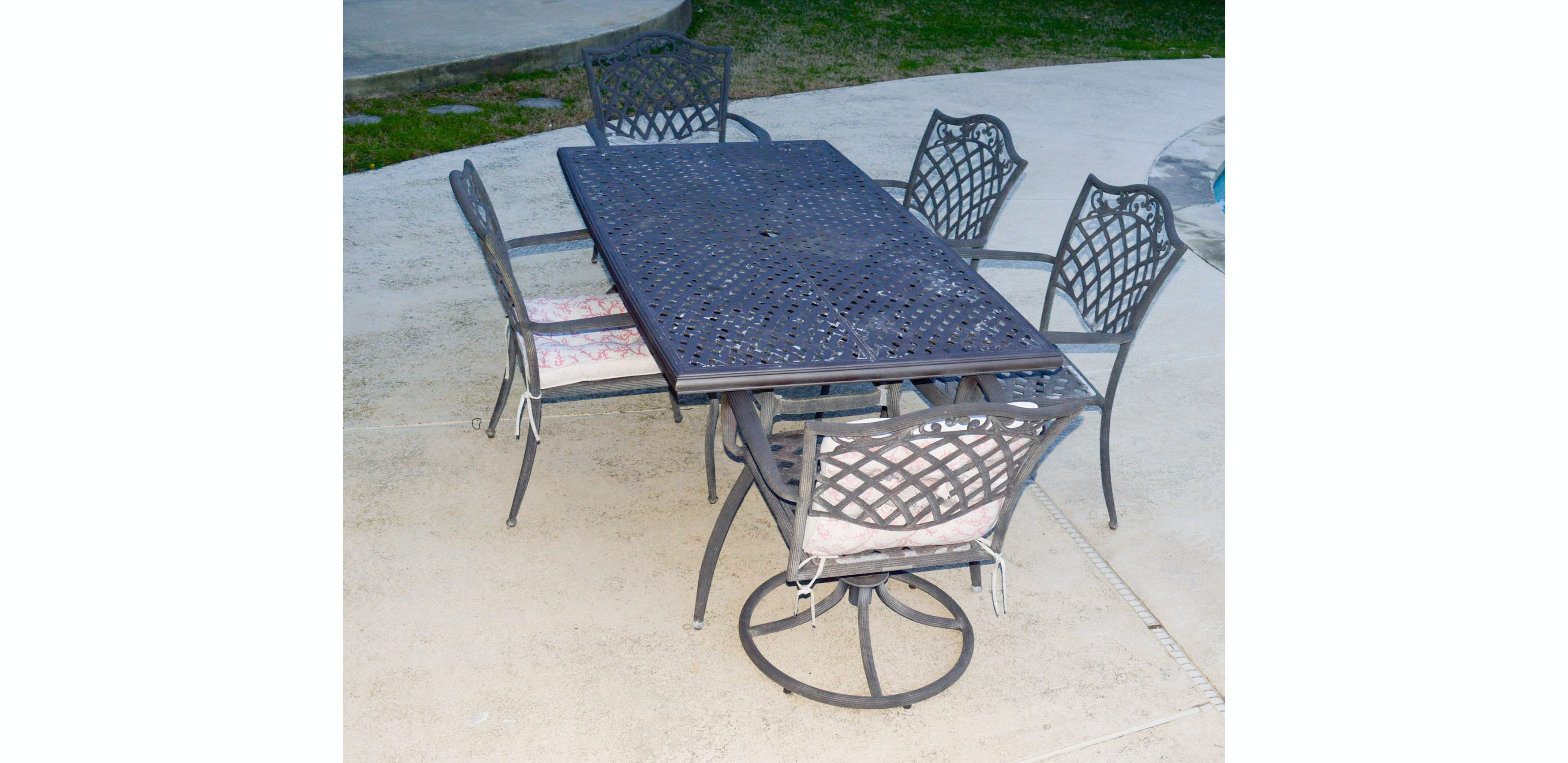 Garden Treasures Classics Patio Table And Chair Set ...