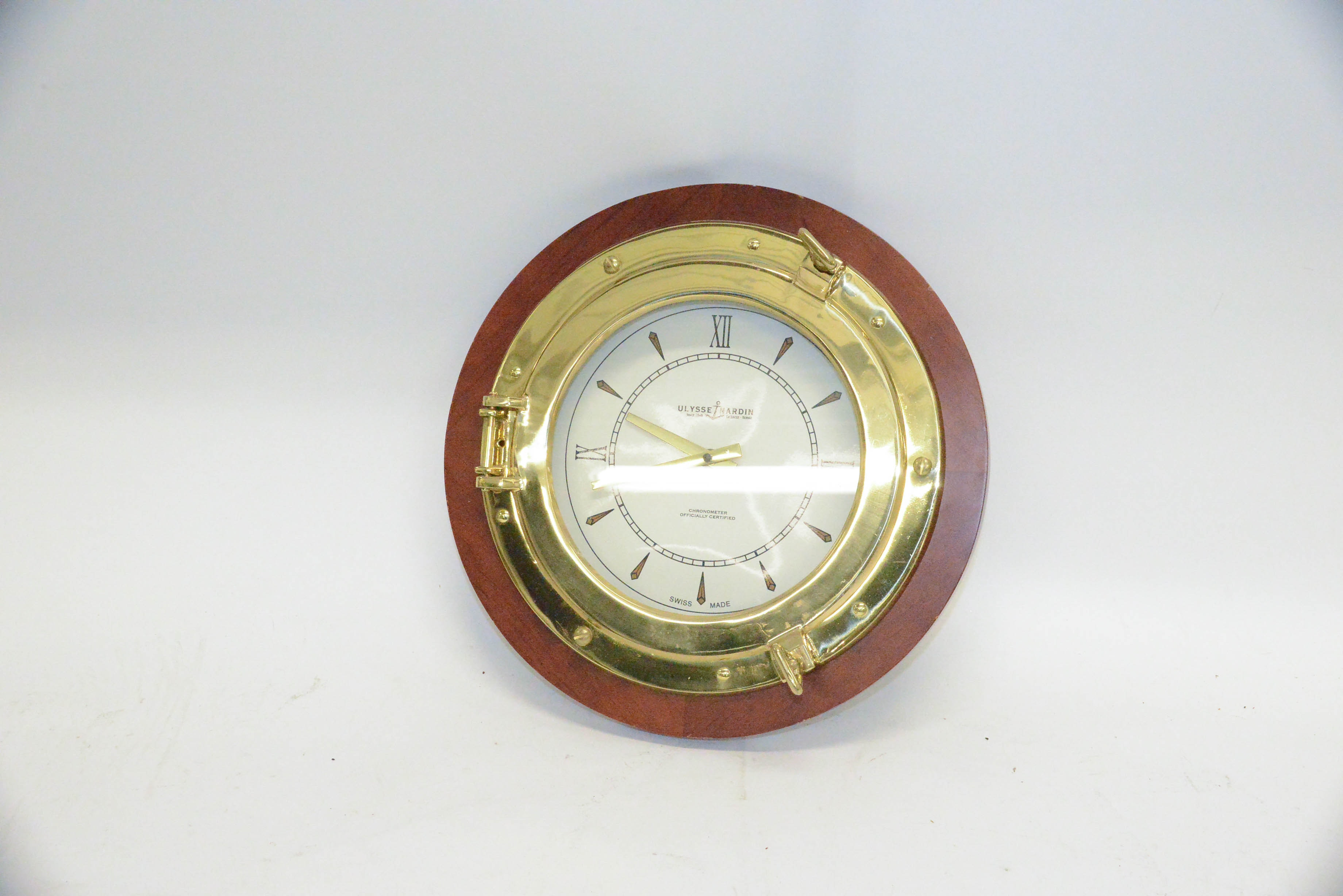 Ulysse Nardin Ship Clock