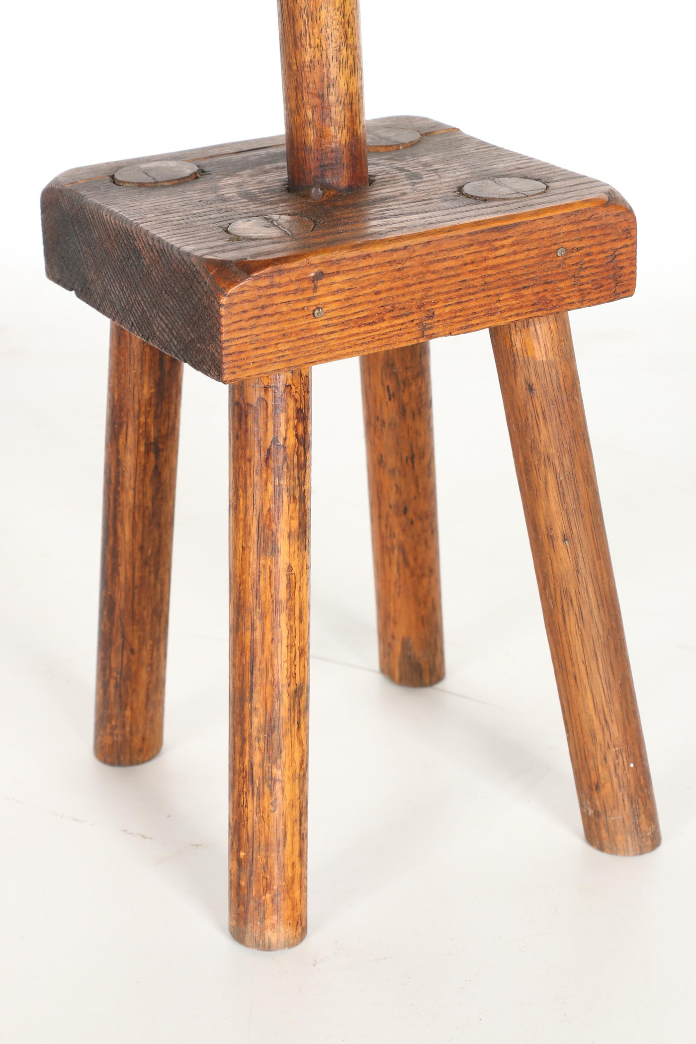 Antique Wooden Dough Bowl With Stand Ebth