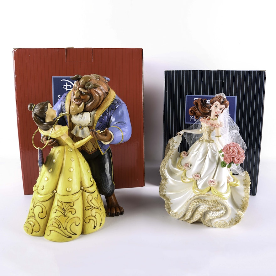 Beauty And The Beast Figurines Including Jim S