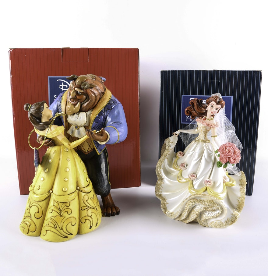 Beauty And The Beast Figurines Including Jim Shore Ebth