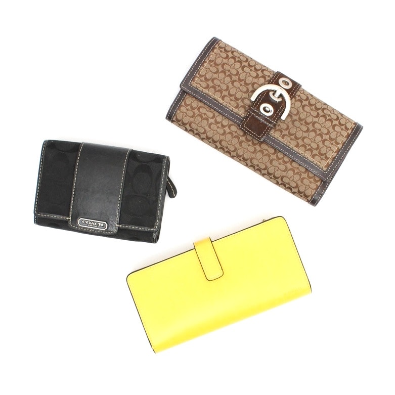 Coach and Lodis Wallets