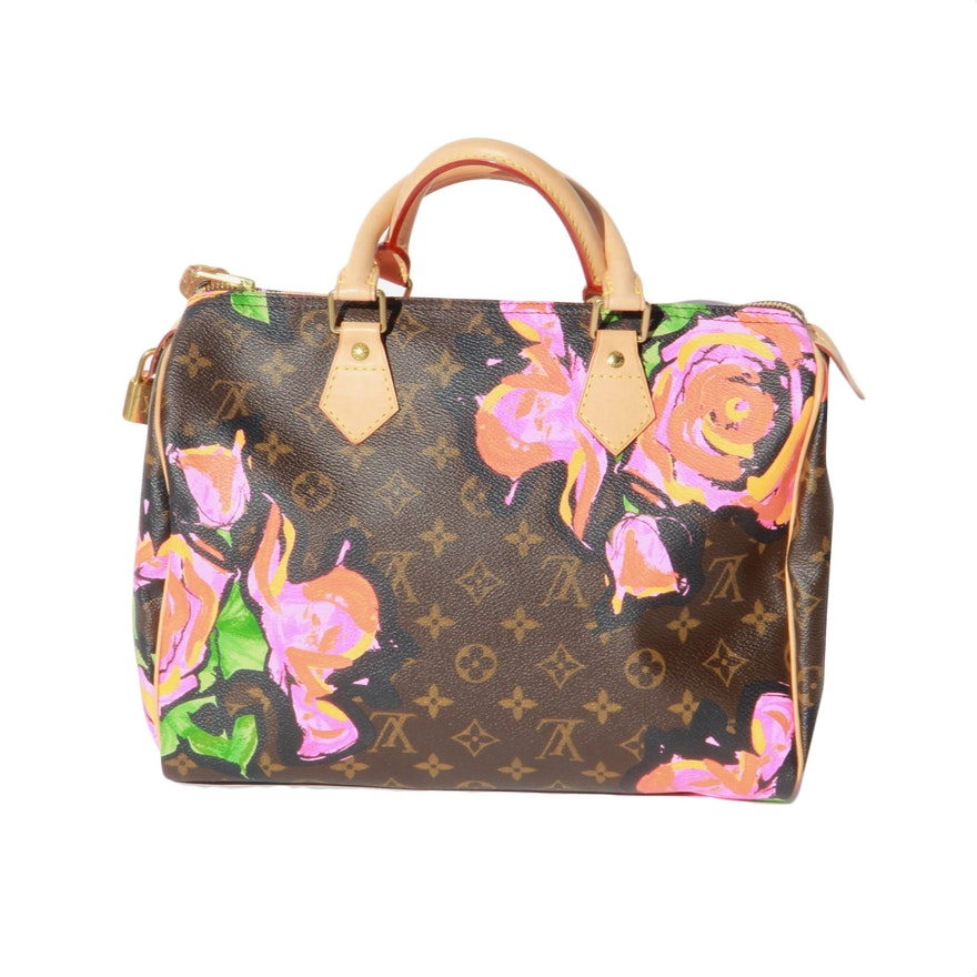d7f18968bcfc Louis Vuitton Stephen Sprouse Roses Speedy 30 Bag   EBTH
