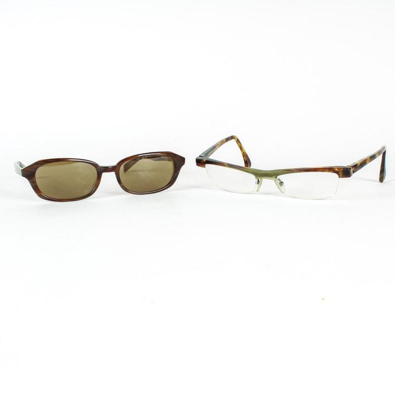 Designer Eyeglasses and Sunglasses