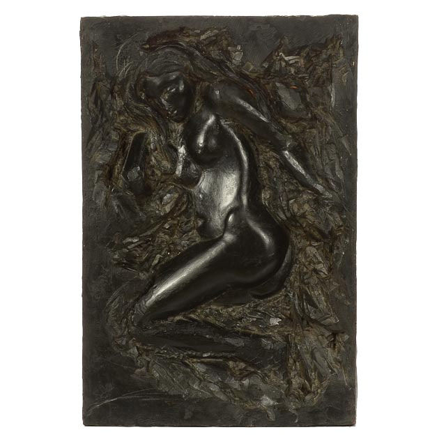 Finesse Originals Cast Resin Nude Figural Wall Hanging