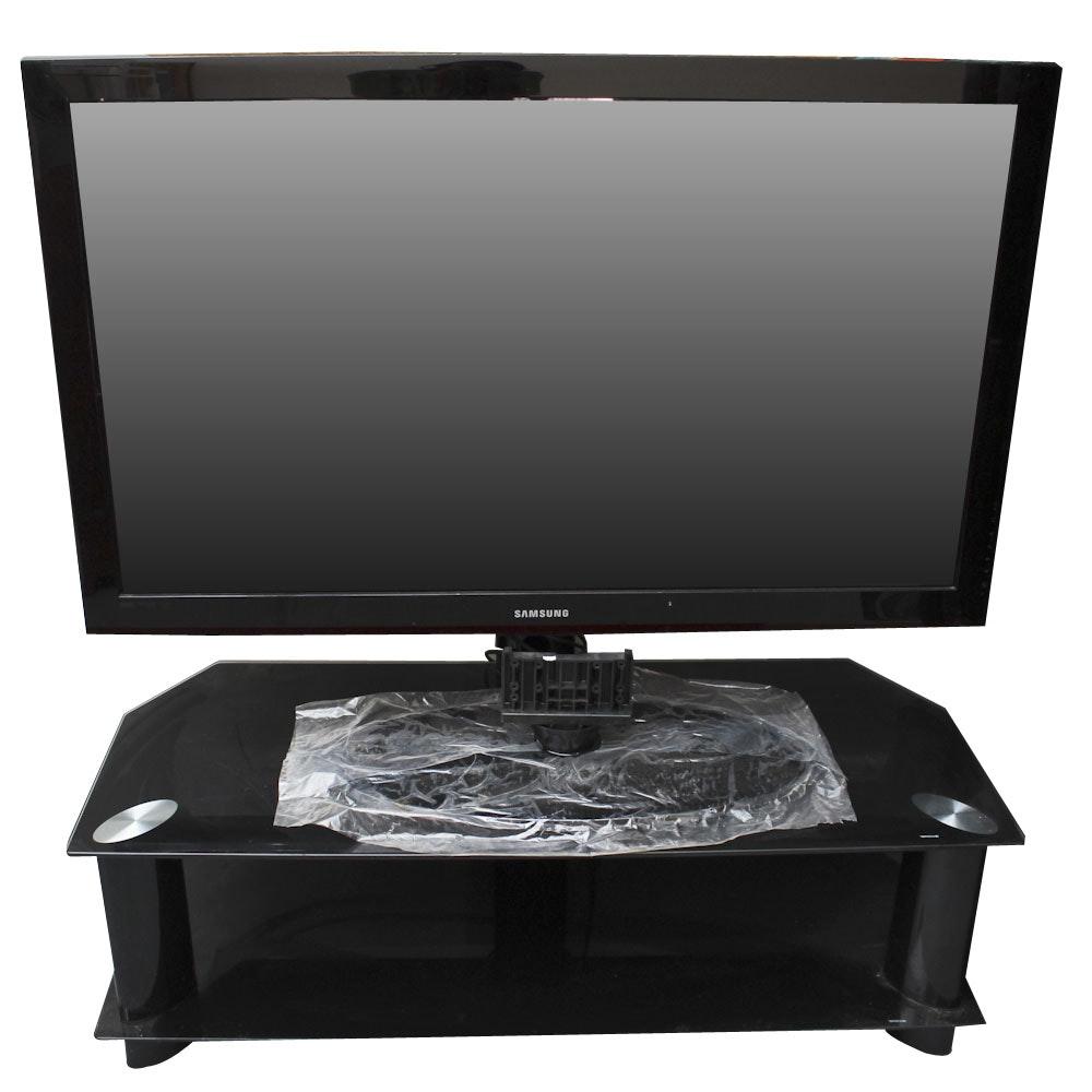 50' Samsung 1080p Plasma TV and Stand