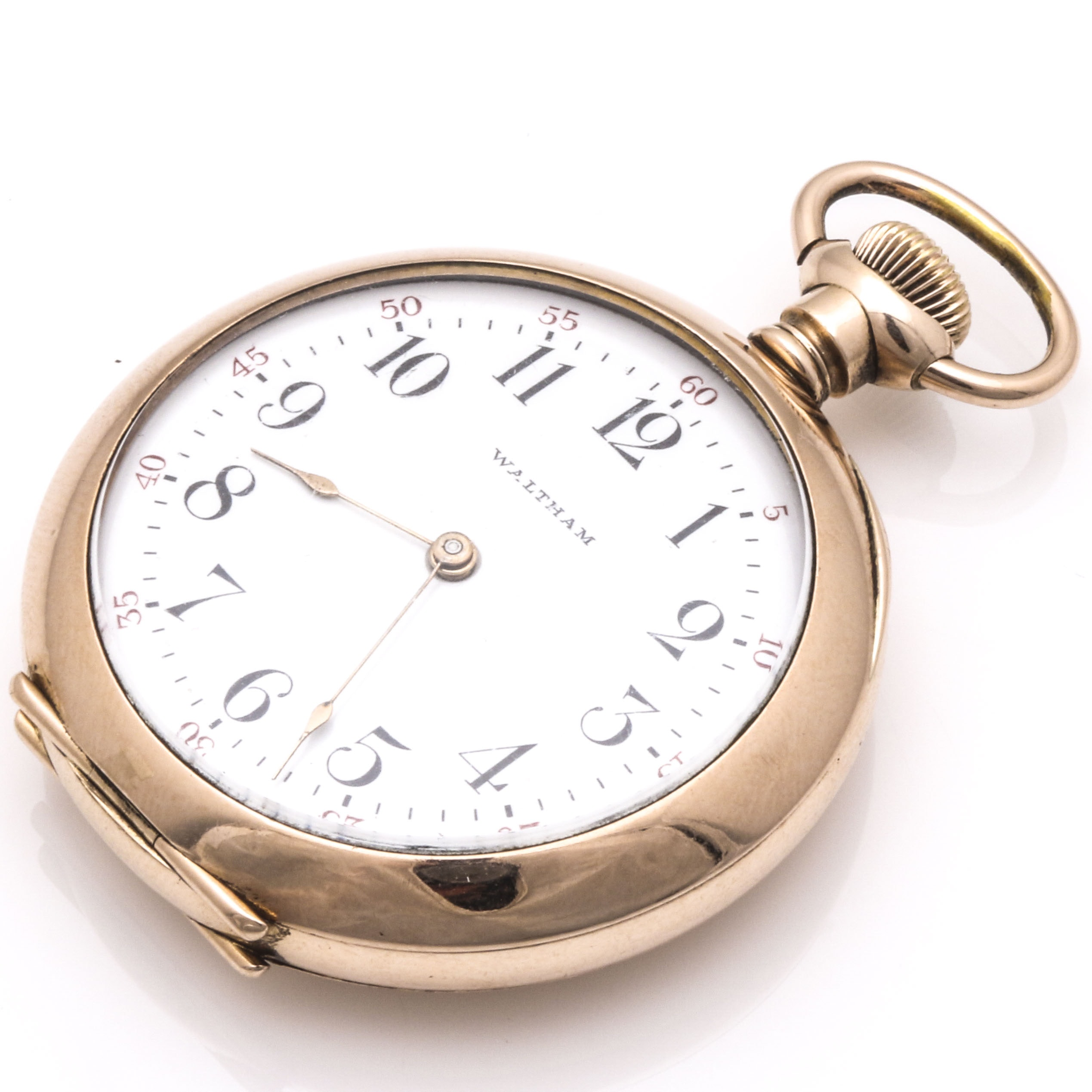 Rose Gold Filled Waltham Pocket Watch