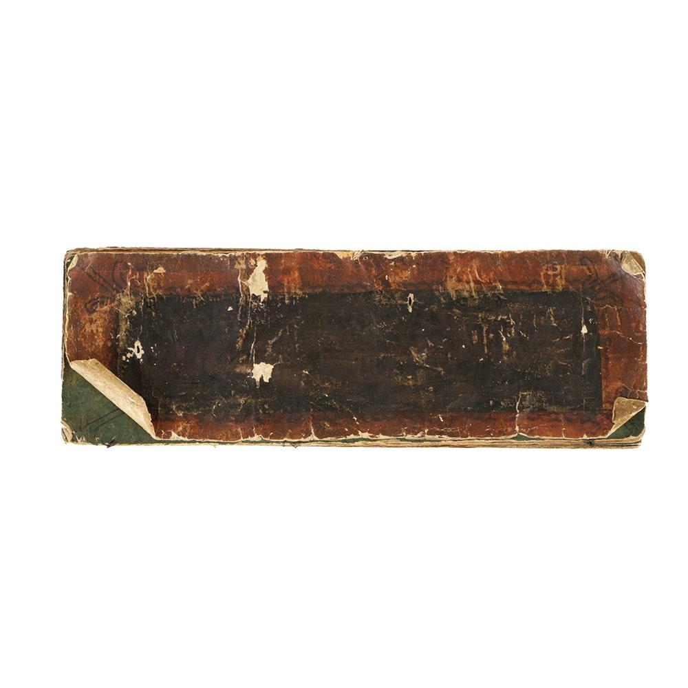 18th Century Buddhist Sanskrit Handpainted Manuscript