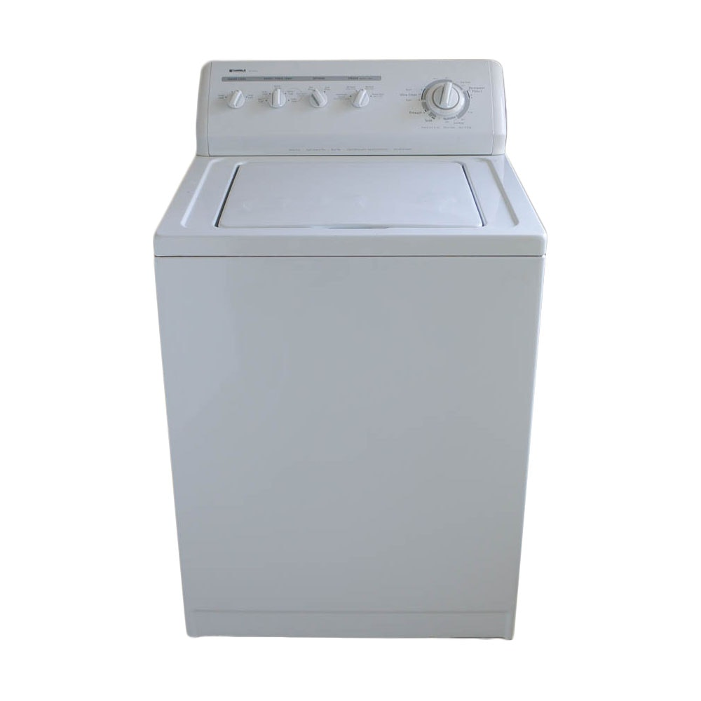 sears kenmore elite washing machine