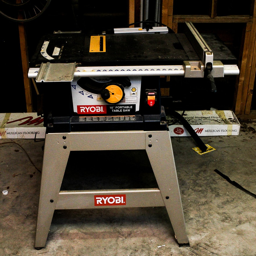 Ryobi 10 portable table saw ebth for 10 portable table saw
