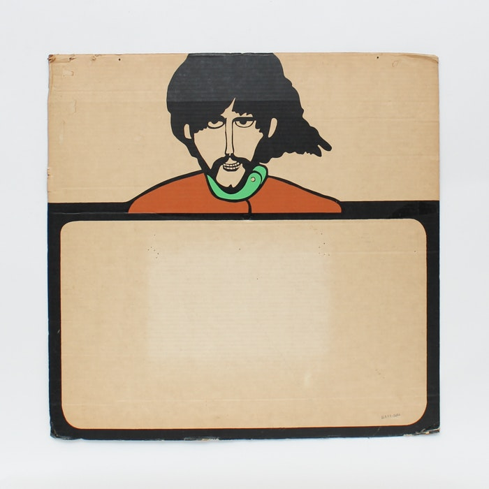 George Harrison of The Beatles Cardboard