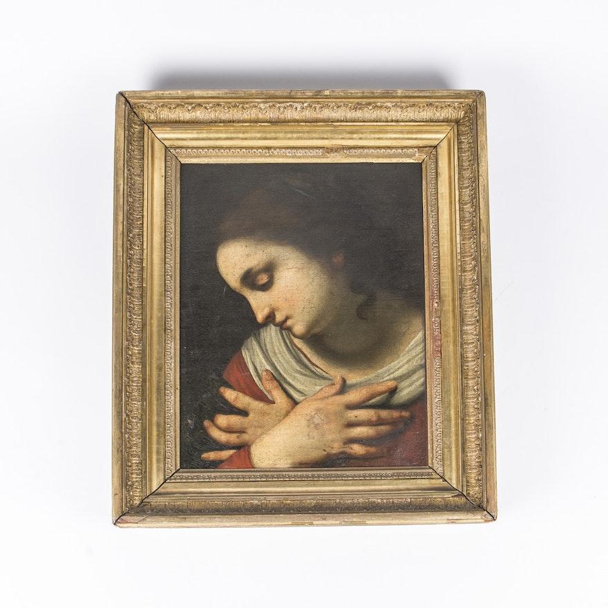 Renaissance Style Oil Painting On Canvas