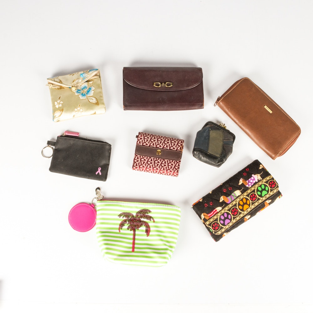 Wallets and Change Purses Featuring Etienne Aigner