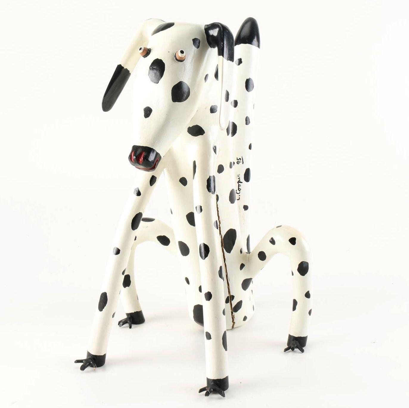 Calvin Cooper Folk Art Dog