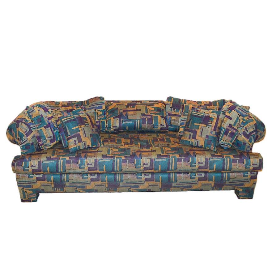 Vintage Modern Low Back Sofa