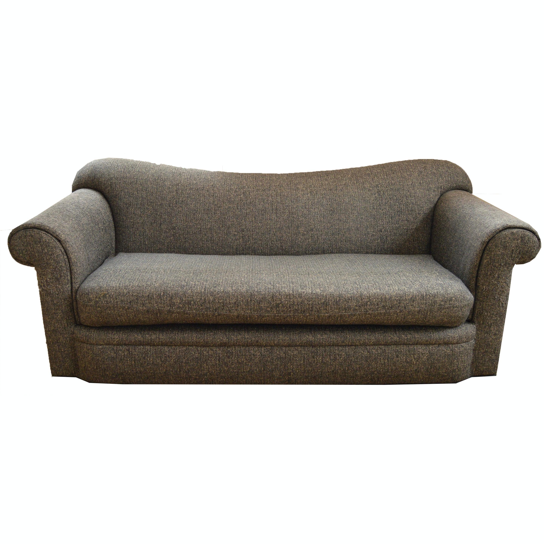 Contemporary Camelback Sofa