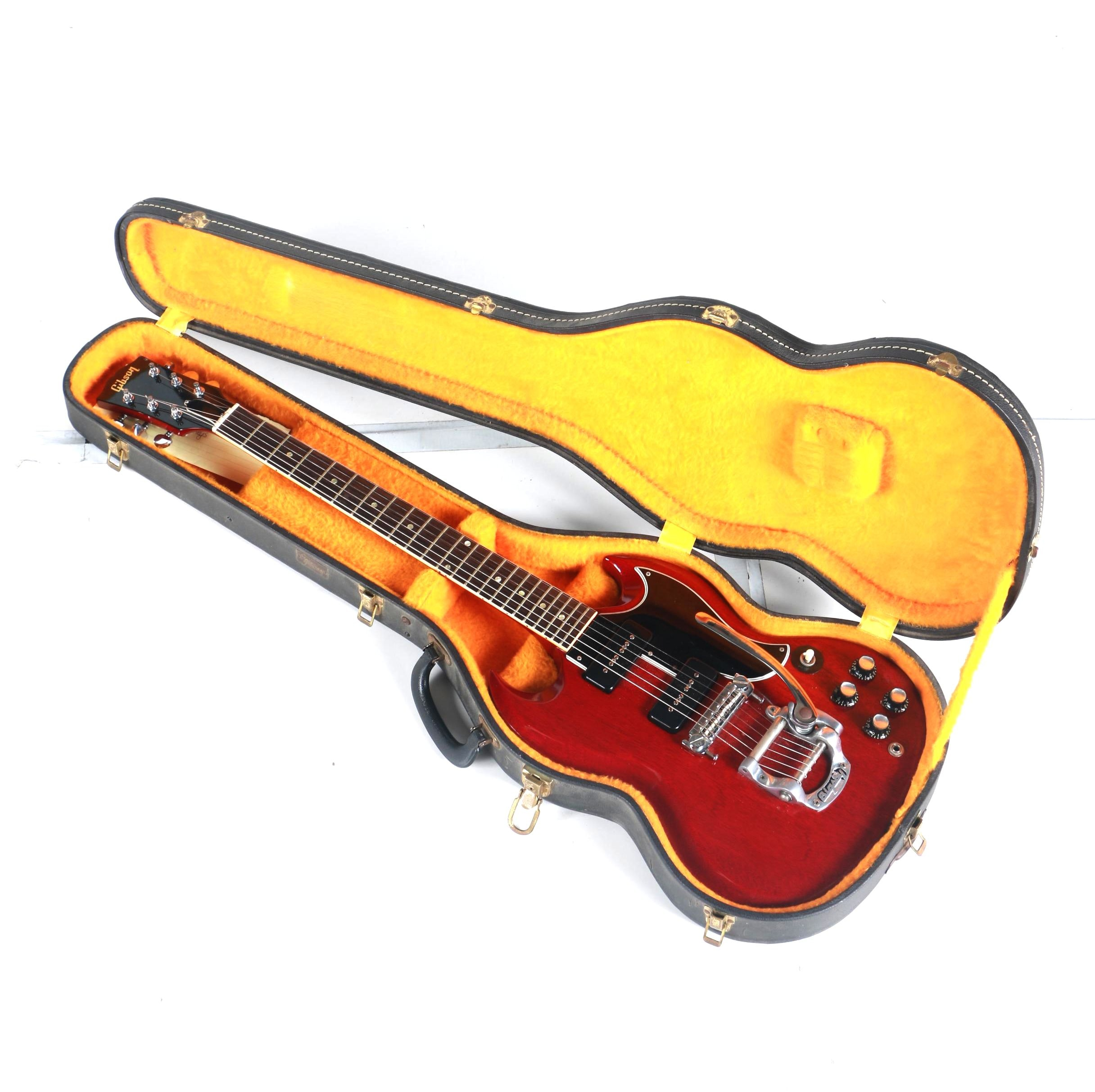 1965 Gibson SG Special and Case