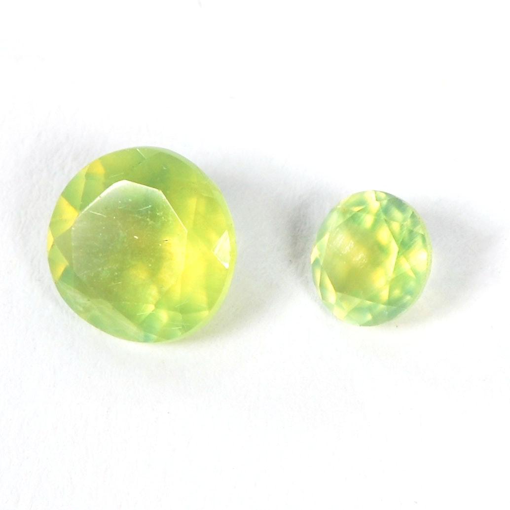 Pair of Loose Orthoclase Gemstones