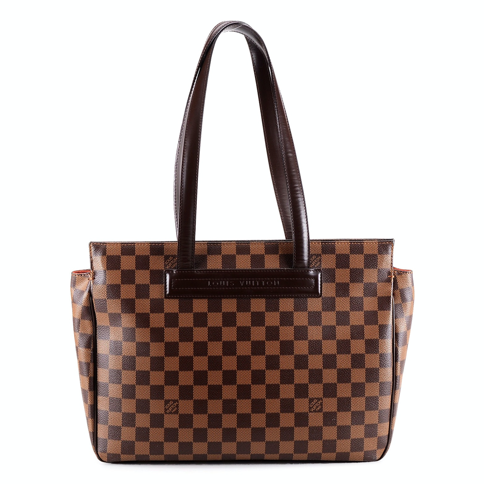 "Susan's Louis Vuitton Damier Ebene Canvas Parioli PM ""Script Bag"""
