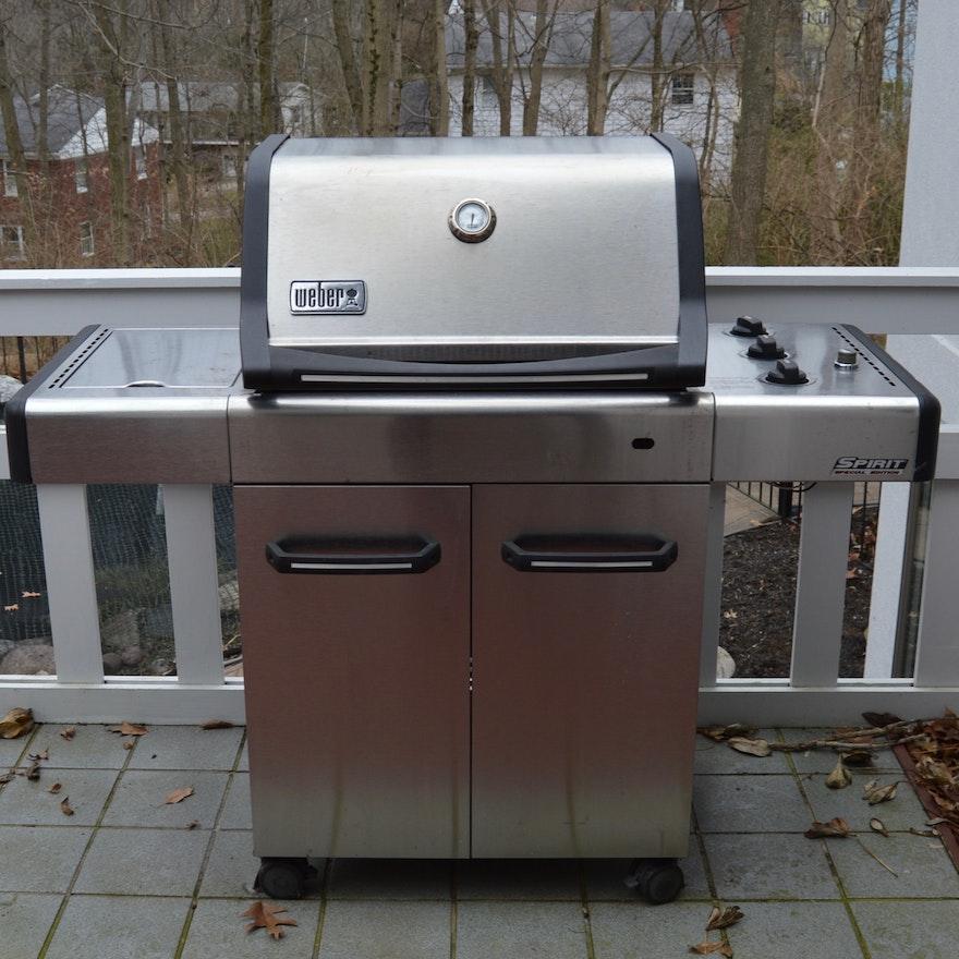 spirit special edition weber gas grill ebth. Black Bedroom Furniture Sets. Home Design Ideas