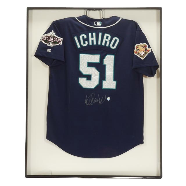 Ichiro Signed All-Star Jersey  COA