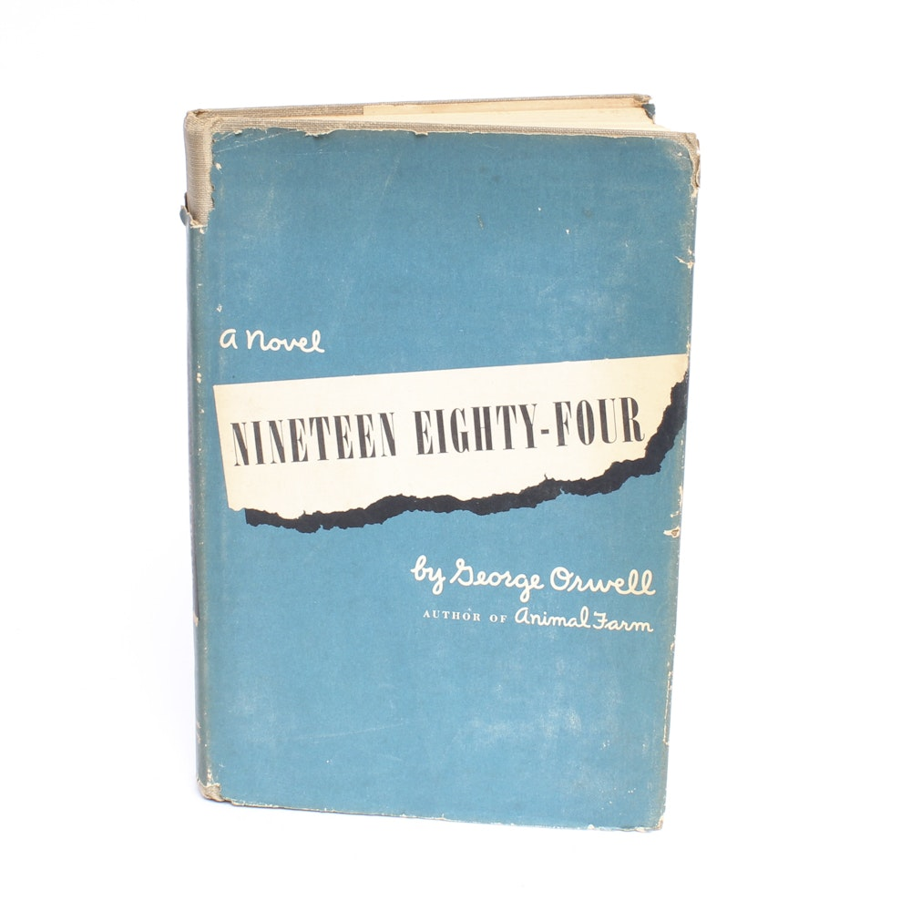 """First American Edition of George Orwell's """"1984"""""""