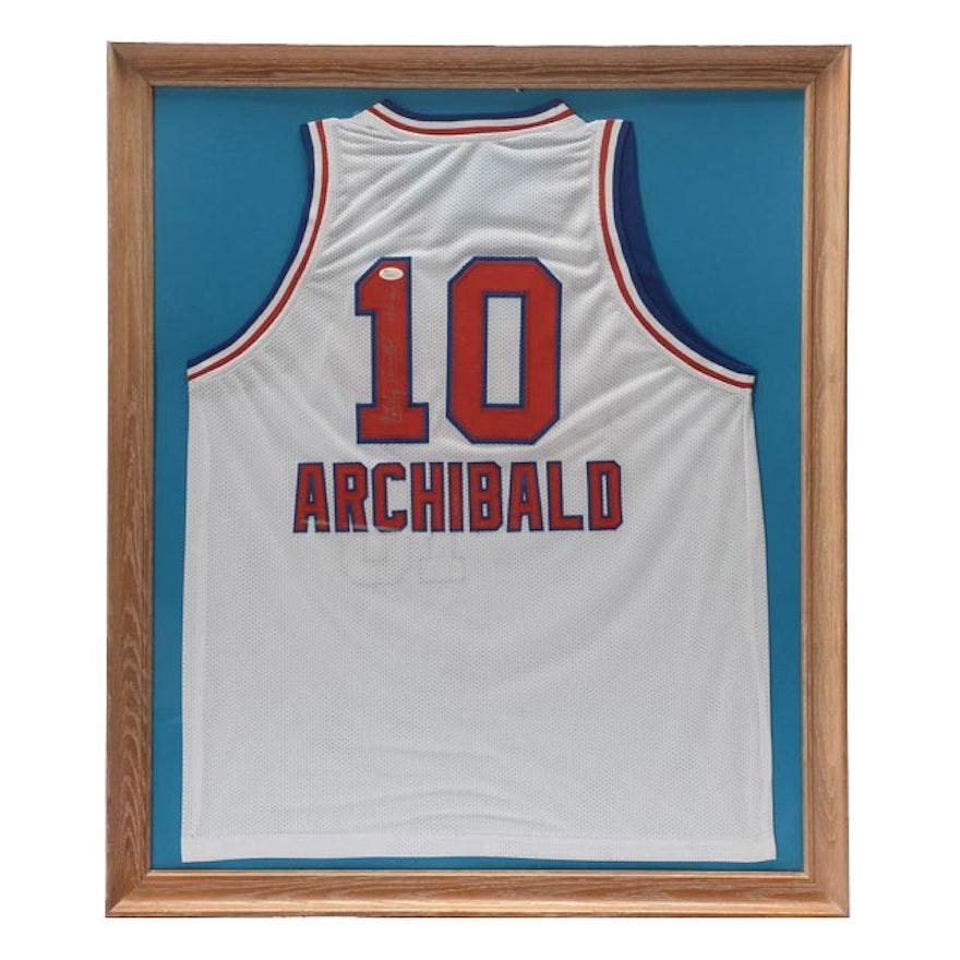 86377d097 Nate Archibald Signed Jersey JSA COA   EBTH