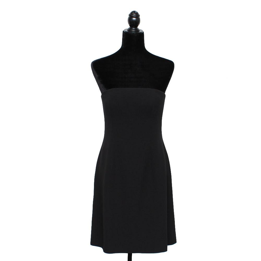 John Anthony Black Strapless Dress