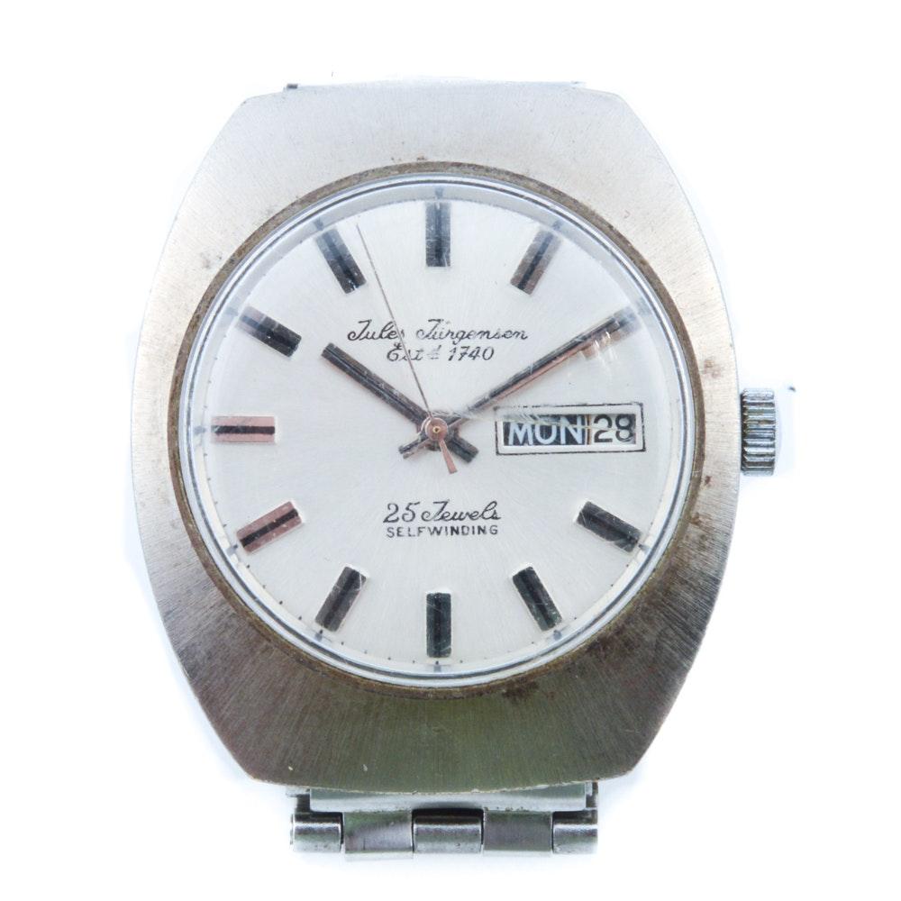Vintage Jules Jurgensen Automatic Wristwatch