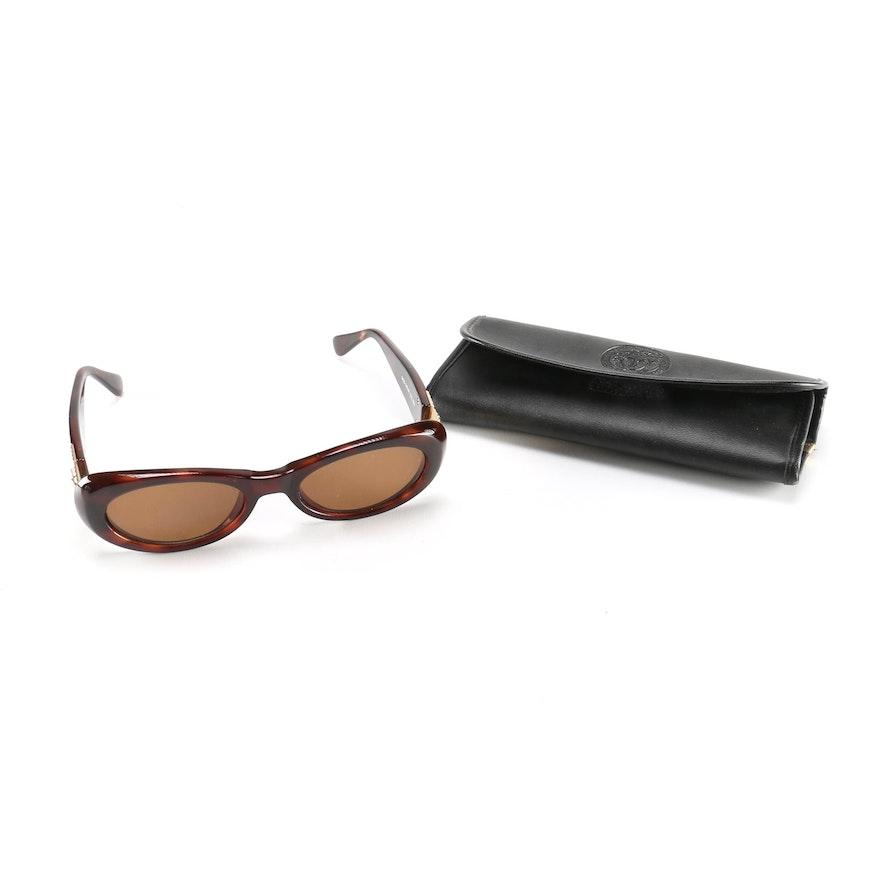 03fdab6d2d Women s Versace Tortoiseshell Style Medusa Sunglasses   EBTH